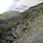 A plan showing how the new Kowhai hydro power station on the Teviot River will look. The station...