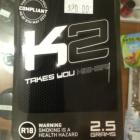A reformulated version of K2 is already being sold in some stores. Photo supplied.