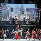 A scene from the Royal New Zealand Ballet's 2014 production A Christmas Carol. Photos by Evan Li.
