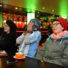A small but passionate group of rugby fans gathered at Wanaka's Water Bar early yesterday to...