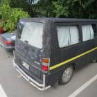 A small camper van in Queenstown's Park St  in 2013  after its occupants camped illegally. Photo...