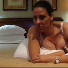 A still image from the video which saw Costa Rica's deputy minister for youth, Karina Bolanos,...