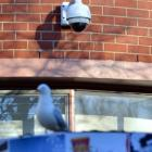 A University of Otago surveillance camera installed recently on the University Union building....