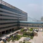 A view of the First Affiliated Hospital of Wenzhou Medical University in Wenzhou, Zhejiang, China...