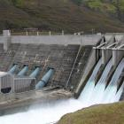 The Clyde dam will be part of the BG Group takeover of Australia's Origin Energy.  Photo from ODT...