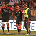 Aaron Cruden is having a scan on his knee today. Photo: Getty Images