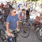 About 200 excited mountain-biking season-pass holders and their friends were the first to hitch a...