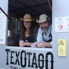 About half of food truck TexOtago's income comes from trading at the museum reserve, owners  Kim...