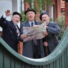 Actors (from left) Peter Hayden (Gustave), Geoffrey Heath (Phillippe) and Simon O'Connor (Henri)...