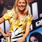 Actress Sienna Miller attends the G. I. Joe: The Rise of Cobra press conference at the Shilla...