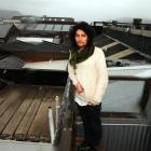 Adam Parata's view from the deck of his harbourside flat is rooftops rather than water.