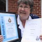 After more than 50 years of service to the Girl's Brigade in Dunedin,  Glenis Whipp was honoured...