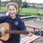 Ailin Pekar, of Balfour, entered  the New Zealand Gold Guitar Awards after being prompted by her...