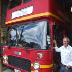 Alan McLay says his double-decker bus was good for public relations while he was mayor. Photo by...