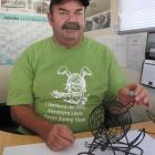 Alexandra Lions Easter Bunny Hunt convener Dave Ramsay readies the numbers ahead of the Friday...