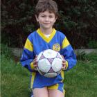 All eights: Cameron Bradley celebrates his 8th birthday on the 8th day of the 8th month of 2008.