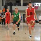Allenvale School basketball player Luke McDonald in action at the National Summer Games at the...