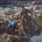 Alpine Gold Miner, by Ben Ho