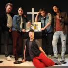 Altar Boyz (from left) Guy Langford, David Sutherland, Hadley R. Taylor, Nick Purdie and Will...