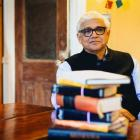 Amitav Ghosh. Photo by Emilio M.K. Visual Media.