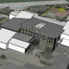 An architect's impression of the $960,000 building development at St Clair School in Dunedin. The...