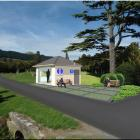 An artist's impression of  how the sexton's building at the East Taieri Cemetery could be...