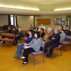 An audience of 28 people hears the Dunedin mayoral candidates in the second of two forums...