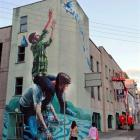 An example of artist Fintan Magee's previous work. Photo supplied.