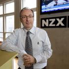 Andrew Harmos has been named chief executive officer of the New Zealand Stock Exchange. Photo New...