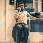 Andrew Laing as Frank Sargeson in the Conrad Newport-directed Gifted, which opens at the Fortune...