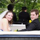 Andrew Nazaris and Janice Copland, who were married at Chingford Park in Dunedin in January....