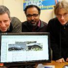 Andy Hutcheon, of Dunedin, Prof Sai Ravela and James Duyck, both of Boston, United States,...