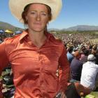 Angie Perkins at the Wanaka Rodeo yesterday. Photos by Marjorie Cook.