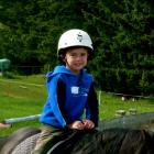 Angus Beaton, of Arrowtown, at Arrowtown preschool in November last year. Photo by Annie Cafe, of...