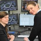 Animation Research's Stefanie Zollmann (left) and Sophie Luther say modern cycle networks will...
