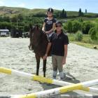 Annabelle Jones (11), of Arrowtown, learns from world, national and Olympic champion Vaughn...