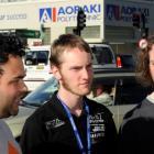 Aoraki Polytechnic students (from left) Warren Walker, Eddie Allan and Will Allan, all of Dunedin...