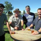 Jim Ashe, Sandy Wilson, Andrew Ede and Ben Whitworth, of Cromwell. PHOTOS: LYNDA VAN KEMPEN