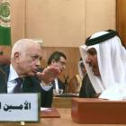 Arab League secretary-general Nabil al-Arabi (left) and Qatari Foreign Minister Hamad bin Jassim...