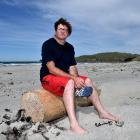 Aramoana Conservation Trust chairman Bradley Curnow, who is worried about the fall in yellow-eyed...