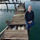 Aramoana League secretary John Davis hopes the pilot's wharf at the township can be saved. Photo...