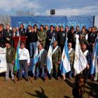Argentine Falklands War veterans attend a ceremony commemorating the conflict's 30th anniversary,...
