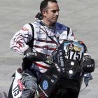 Argentine rider Jorge Andres Martinez Boero was killed after falling from his motorcycle during...