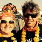 Arrowtown couple Lisa and Edward Guy set off yesterday on a 3000km, 11-day journey across...