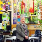 Arthur Street School principal Bruce Robertson will retire in September. Photo by Craig Baxter.
