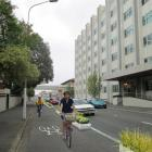 Artist's impression of cycleway through central Dunedin. Image by NZTA.