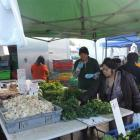 Asian vegetables at Otara market. Photos by Charmian Smith.