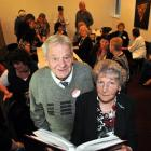 At a DIC department store reunion are Peter (81) and Daphne (79) Fraser, in Dunedin on Saturday....