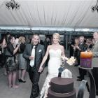 At the reception of Lana and Reece Cameron, held at The Venue in Wanaka in April. Photo by...