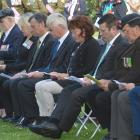 Attendees at the 2014 Armistice Day Service of Remembrance. Photo by Peter McIntosh